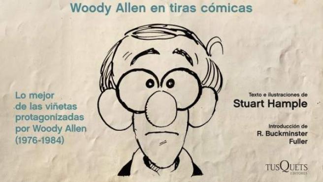 Portada del libro de viñetas 'Ponte en lo peor' protagonizado por Woody Allen.