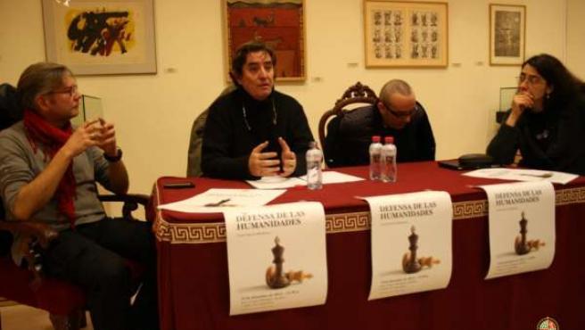 García Montero en su conferencia hoy