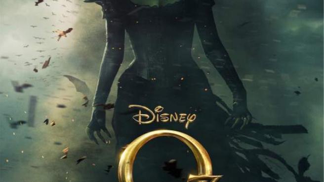 Rachael Weisz, en el cartel de 'Oz, un mundo de fantasía'.