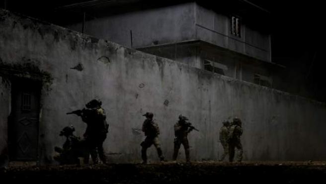 Una imagen de la película 'La noche más oscura'.