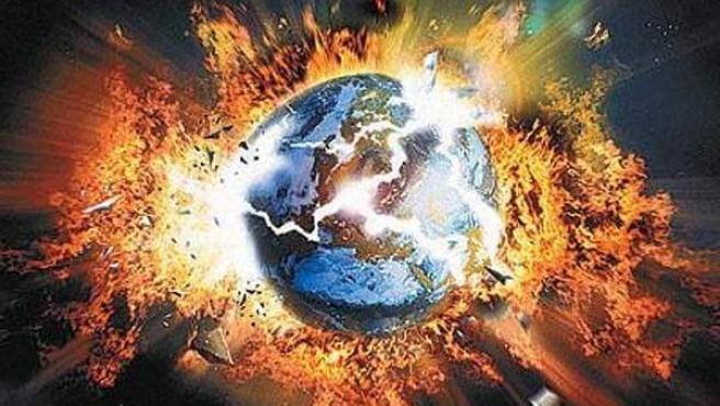 Explosión del planeta tras haberse pronosticado el fin del mundo.