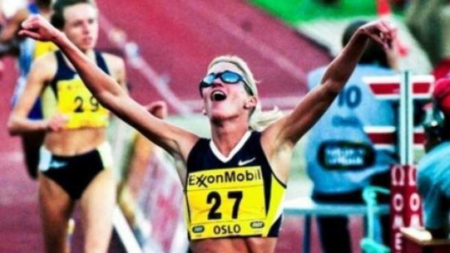 La exatleta Suzy Favor Hamilton, en su perfil de Twitter.