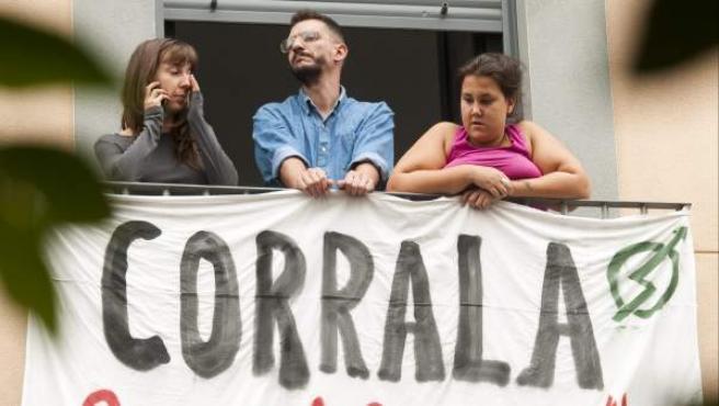 Corrala La Alegría, en Sevilla