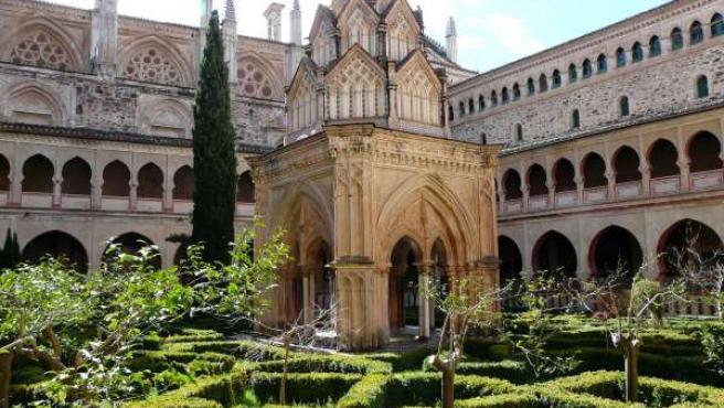 Clautro mudéjar del Monasterio de Guadalupe