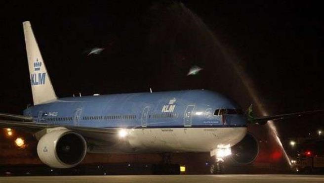 Avión De KLM