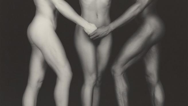 Una de las fotos de Robert Mapplethorpe que se exponen en el Museo Getty