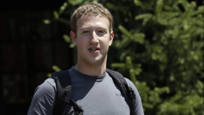 Mark Zuckerberg, fundador y CEO de Facebook.