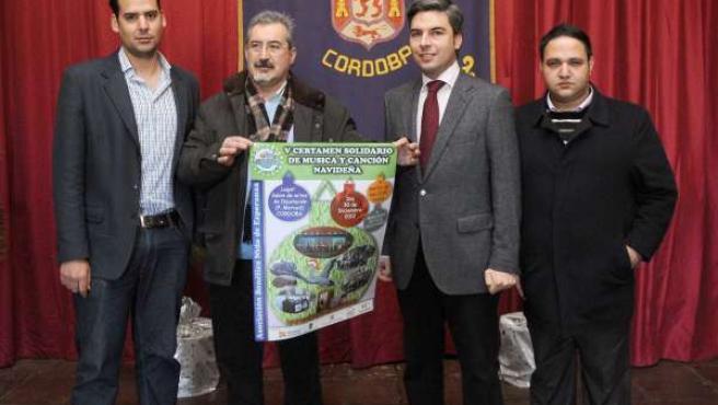 Certamen de la asociación benéfica 'Nido de Esperanza' en Diputación