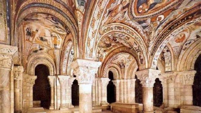 Bóvedas del Panteón de la Basílica de San Isidoro, en León.