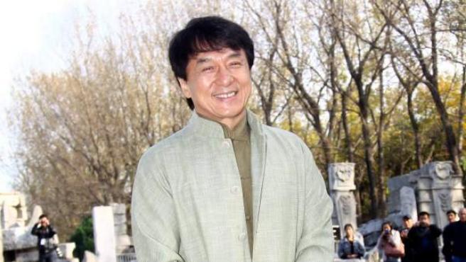 El actor Jackie Chan.