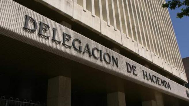Imagen de archivo de una delegación de Hacienda.