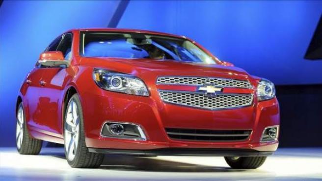 Chevrolet Malibu Eco, un modelo con características de híbrido.