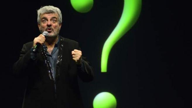 Millán Salcedo durante su representación en 'De Verden Cuando'.