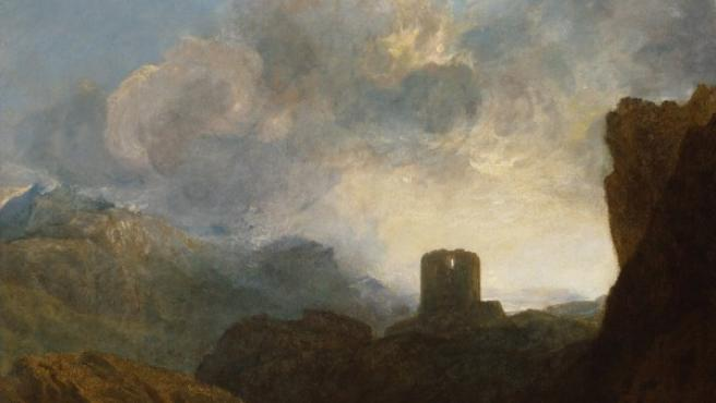 Cuadro de Turner presente en la exhición de Londres