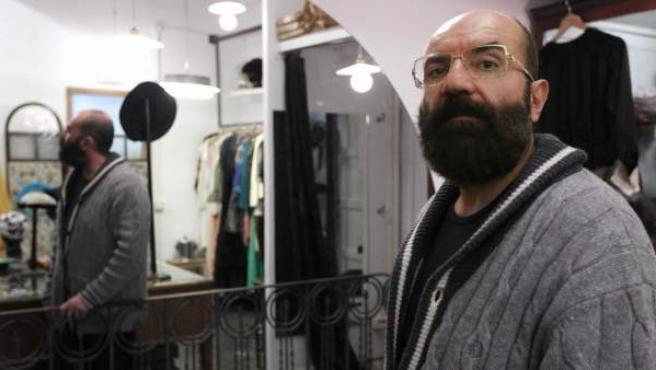 El diseñador canario Paco Delgado.