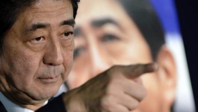 El nuevo primer ministro de Japón, Shinzo Abe, en una imagen de hace un mes.