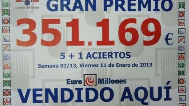 El euromillón deja más de 350.000 euros en Santander