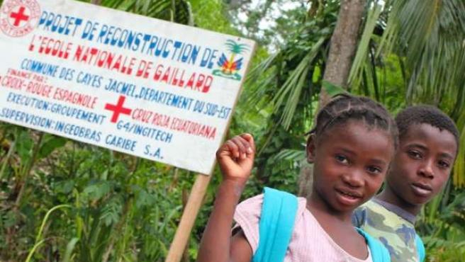Cruz Roja Navarra recauda más de 600.000 euros para ayudar a Haití.