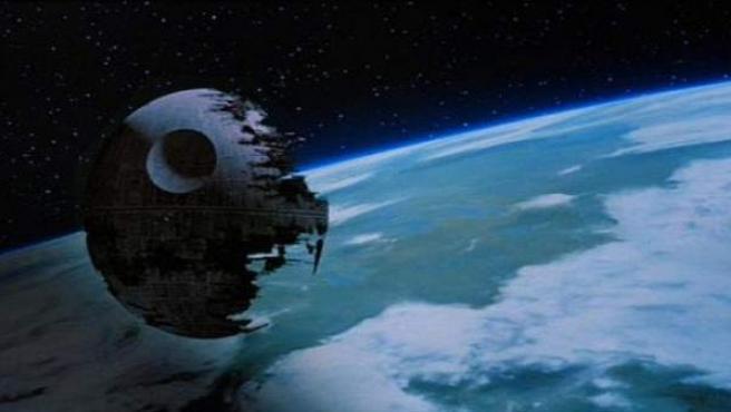 Imagen de la segunda Estrella de la Muerte.