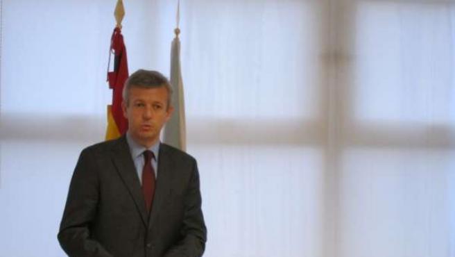Alfonso Rueda, vicepresidente de la Xunta y conselleiro de Presidencia