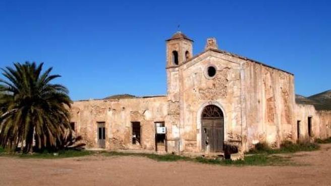 Imagen del Cortijo del Fraile, en Níjar (Almería)