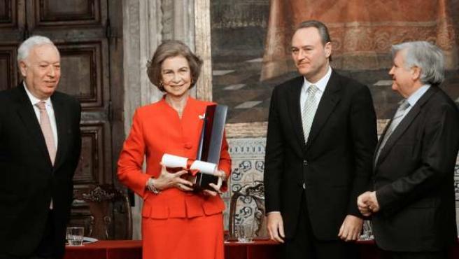 La Reina recibe el XXI Premio de Convivencia Manuel Broseta