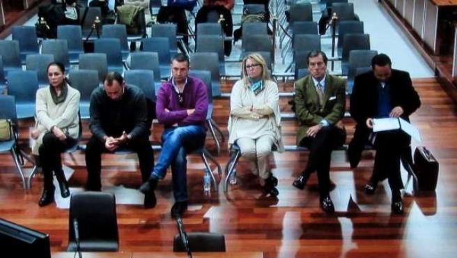 Juicio por blanqueo a Pantoja, Muñoz, Zaldívar y otras siete personas