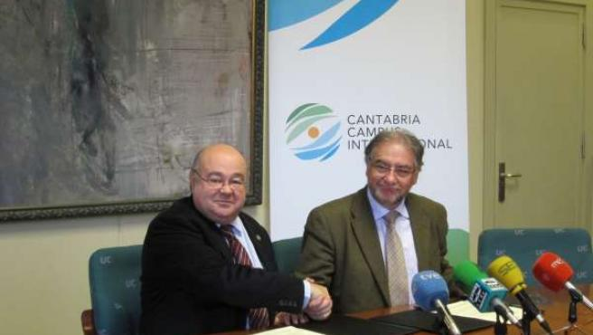 Acuerdo Cantabria Campus internacional