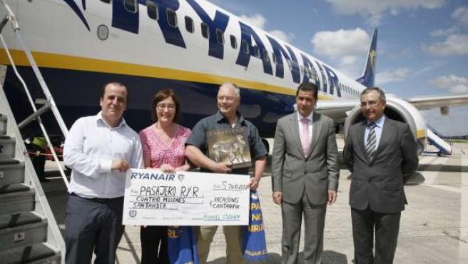 Pasajero cuatro millones Ryanair