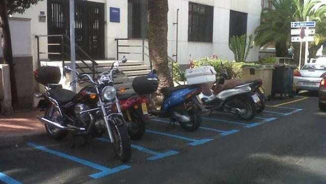 Aparcamiento para motos