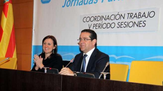 Català y Bellver en la jornada parlamentaria de trabajo con la consellera
