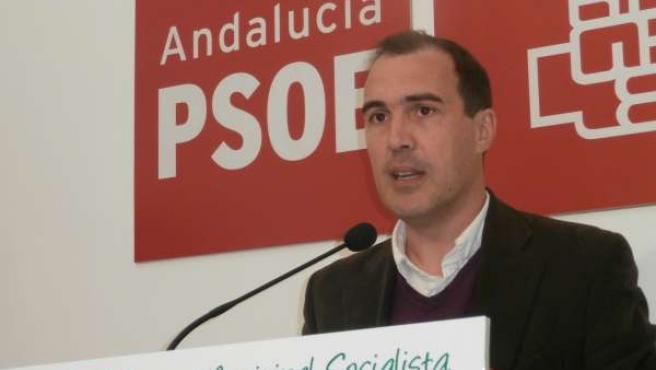 El viceportavoz del PSOE en el Ayuntamiento, Miguel Ángel Mejías.