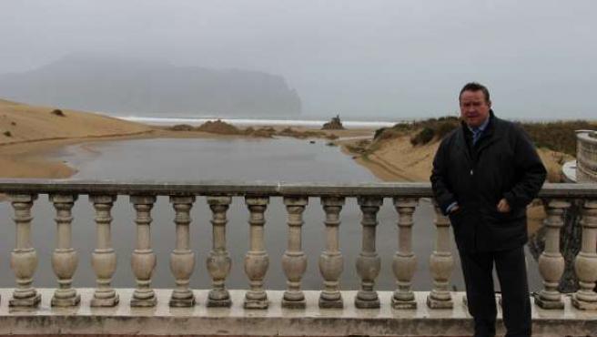 Alcalde en río Mantilla