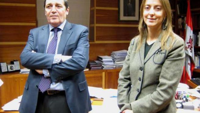 Antonio María Sáez Aguado y Esperanza Vázquez