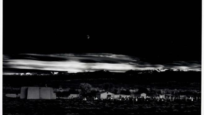 Ansel Adams fotografía Nuevo México en 1941