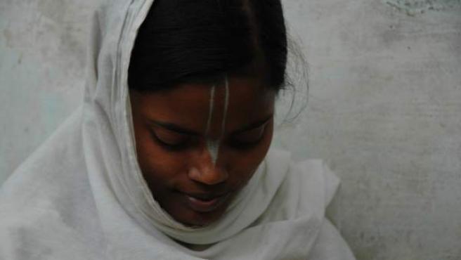 """La joven india, violada y viuda, no tiene """"expectativas para ser feliz""""."""