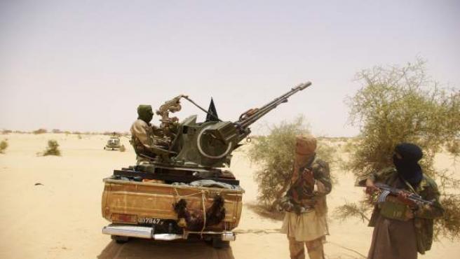 Gerrilleros salafistas en Mali.