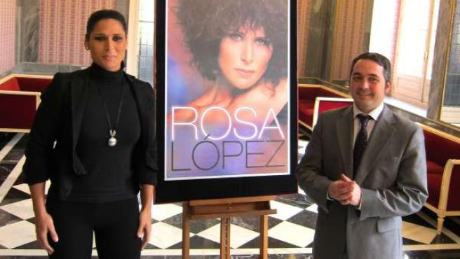 Rosa López y Rafa Gómez