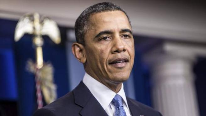 El presidente de EE UU, Barack Obama