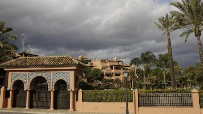 Urbanización Alhambra Golf, donde está situado el ático de Ignacio González.
