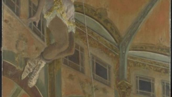 'Miss La La en el Circo Fernando' (1879), el óleo original de Degas que preside la exposición