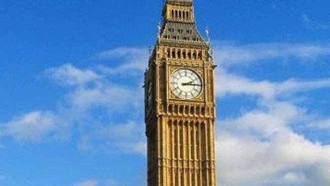 El Big Ben de Londres.
