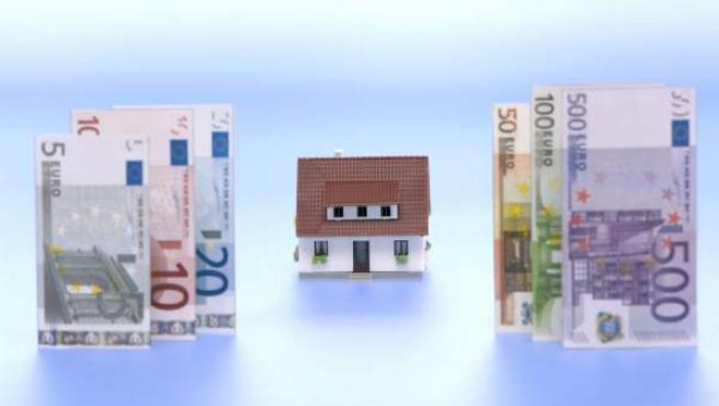 El euríbor registrará su primera subida este mes desde octubre de 2011.