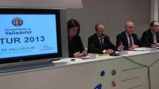 Presentación de la oferta turística del Ayuntamiento y la Diputación