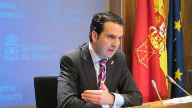 El consejero de Políticas Sociales del Gobierno de Navarra, Íñigo Alli.