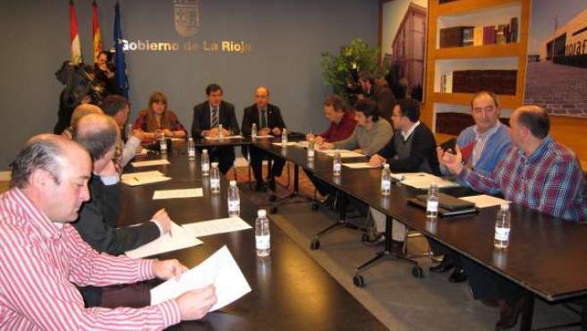 Reunión Nagore y Herranz con OPAs y FECOAR
