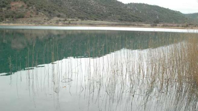 Embalse de la Toba en Albacete
