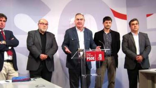 Frente común del PSOE de Alicante, Albacete y Murcia contra privatización MCT