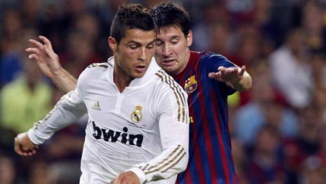 Messi y Cristiano, los cracks del Barça y del Real Madrid.