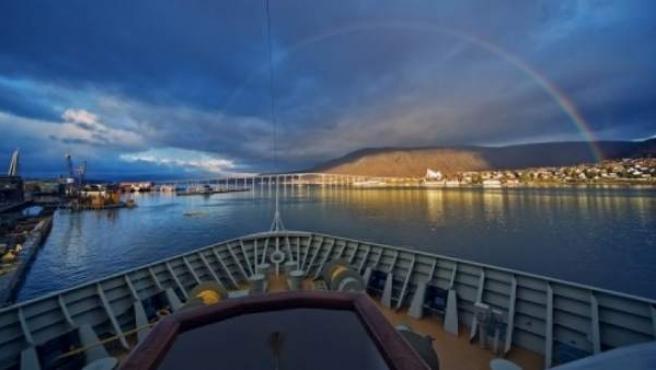 Tromso, una de las más alegres localidades por su ambiente universitario.